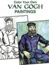 Color Your Own Van Gogh Paintings [Dover Art Coloring Book]