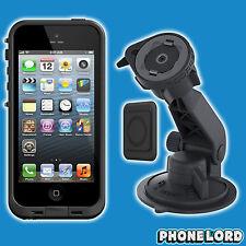 Genuine Lifeproof iPhone SE 5 5S Fre case and Lifeactiv Suction mount Black