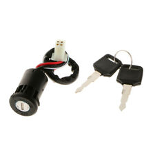 Motor 4 Wire ATV Ignition Switch + Key for 50 70 90 110 125 150 200 250CC TaoTao