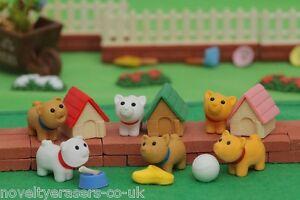 Novelty Japanese IWAKO Animal Puzzle Eraser Rubbers - IWAKO Dog Erasers