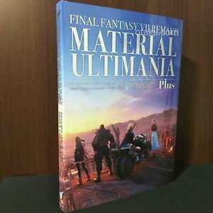 FINAL FANTASY VII Remake Material Ultimania Plus - GAME ARTBOOK NEW