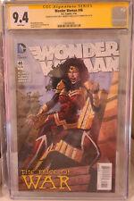Wonder Woman 46 CGC 9.4 Signed by David & Merdith Finch & Scott Hanna