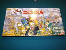Monopoly Parker Bros. The Simpsons 2001 Welcome to Springfield Board Game