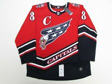 OVECHKIN WASHINGTON CAPITALS AUTHENTIC ADIDAS REVERSE RETRO JERSEY SIZE 56
