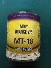 MT-18 MOLY ORANGE YELLOW SHADE MATRIX TONER QUART