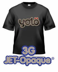 3G Jet-Opaque Inkjet Heat Transfer Paper for Dark Fabrics (inc. wholesale)