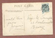 Miss M Crompton  23  Parliament street  Bury  Lancs  1904  Studholme     RK1060