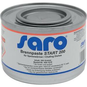 Brennpaste Modell START 200 Saro Karton 72 Stück (0,82 EUR/Stk)