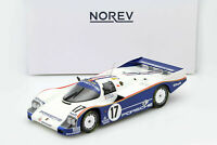 Porsche 962 C race car #17 Winner 24 LeMans 1987 Piece Bell Holbert 1:18 Norev
