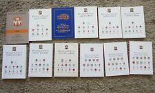 Collection Of 12 Masonic Year Books. Soft Backs 1995-2015. Freemasonry. Vg+