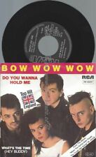 "7""  Bow Wow Wow ‎– Do You Wanna Hold Me?"