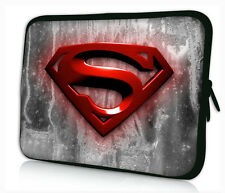 "17-17,3"" LAPTOP SLEEVE CARRY CASE BAG 4 ALL LAPTOPS, FREE POST *Red Superman*"