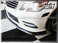 CS Style Carbon Fiber Front Lip for W212 Sedan w/ AMG Sports Bumper E350 E550