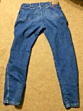 Wrangler Blue Denim Mens Jeans 36x34