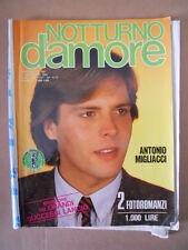 NOTTURNO D'AMORE Fotoromanzo n°284 1984 (Idillio 280 - Darling 180)  [D31]