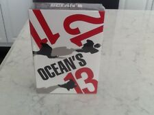 Oceans 11, 12 and 13 DVD's set