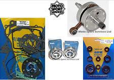 Honda CR 125 90-97 Mitaka Bottom End Engine Rebuild Kit Crank Mains Gasket Seal