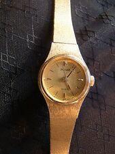 Pretty Ladies Pulsar Gold Round Face Quartz Watch