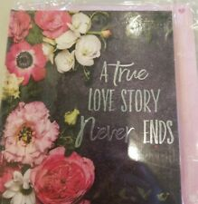 LOVE STORY Gift Book Card of Insperational Quotes About LOVE W/Envelope