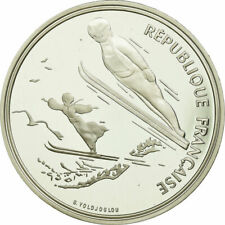 [#735353] Coin, France, 100 Francs, 1991, BE, MS, Silver, KM:995
