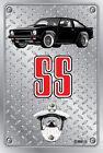 Pop A Top - Wall Mount Bottle Opener Metal Sign - Holden Torana A9X SS Black
