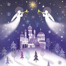 Cartes de vœux et papeterie bleus pour Noël