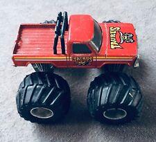 VINTAGE 1985 MATCHBOX RED TAURUS MONSTER TRUCK