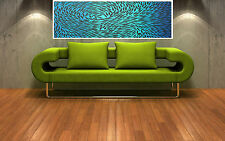 "Print  dreaming fish australia painting canvas landscape art 36"" x12"" Abstract"