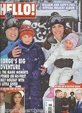 Hello magazine Kate Middleton Prince William holiday Bradley Cooper Nancy Reagan