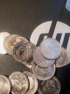 20 Geek 50 Lepta Coins  King Kon