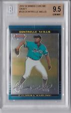 2002 Bowman Chrome Draft Dontrelle Willis Rookie Graded BGS 9.5