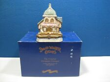 "David Winter Cottages, Seaside Boardwalk , ""Barnacle Theatre"" in Box"