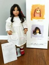 """Anna Ii by Annette Himstedt 1998 26 3/8"""" tall -Original Box and Certificate"""