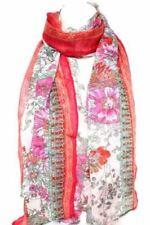 Markenlose Damen-Schals Blumen