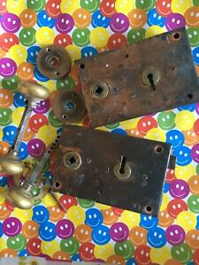 2 Vintage, Reclaimed Rim Locks