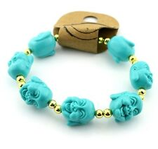 Women Lucky Buddha Beads bracelet Buddha head bracelets Lucky Fortune Jewellery