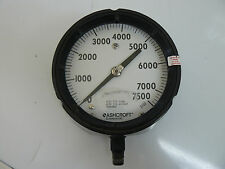 Ashcroft Q-8451 Duragauge 7500 Psi Aisi 316Tube Aisi 316 Socket Welded