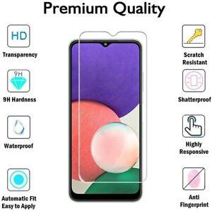 Schutzglas Glasfolie für Samsung Galaxy A22 5G Display Schutz Panzerfolie 9H