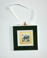 The Vietnam War Hand Crafted Velvet Framed USA Stamp Christmas Tree Ornament