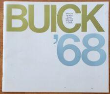 1968 Buick prestige full line sales brochure catalog booklet pamphlet