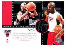 Michael Jordan 1997 Upper Deck Viewpoints MVP23 Oversize Basketball Card VP1
