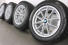 Original BMW X3 F25 X4 F26 17 Zoll Alufelgen 304 V-Speiche Sommerräder RDK JJ4-2
