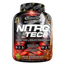 Muscletech Nitro Tech (4 Lbs) Milk Chocolate Nitrotech (1.8 kg) Protein