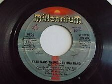 Meco Star Wars Theme Cantina Band / Funk 45 1977 Millennium Vinyl Record