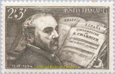 EBS France 1942 Emanuel Chabrier - opera composer - YT 542 MNH**