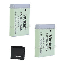 2X NB-13L NB13L Replacement Battery for Canon PowerShot G5X G7X G9X SX730