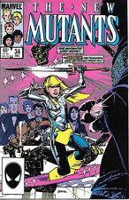 The New Mutants Comic Book #34 Marvel Comics 1985 VERY FINE+  NEW UNREAD