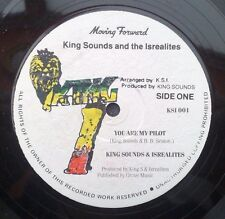 """KING SOUNDS & THE ISREALITES """" YOU ARE MY PILOT """"UNPLAYED EX STOCK UK ORIG 12"""""""