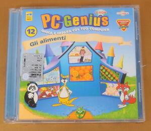 PC GENIUS - GLI ALIMENTI N° 12 - CD- - 2000 DEAGOSTINI - BUONO CD [AM-035]