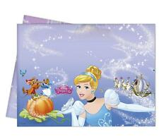 CINDERELLA PLASTIC PARTY TABLE COVER 120CM BY 180CM DISNEY PRINCESS NEW GIFT